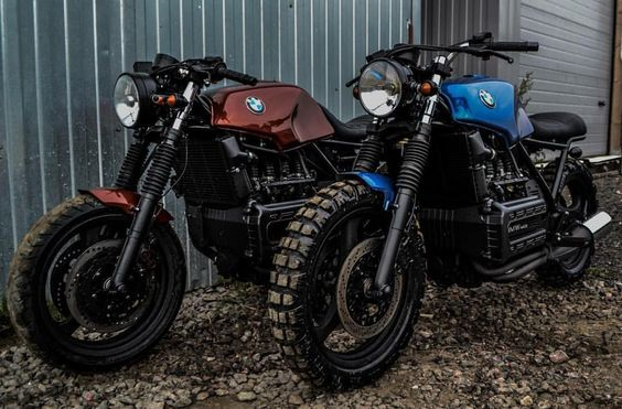 Scramblers & Trackers | @scramblerstrackers #scramblerstrackers | Cool pair of Flying Bricks by @motoizevro #motoizevro #bmwmotorrad #flyingbrick #scrambler #scramblers | See more on our profile or facebook [ Link in profile ].