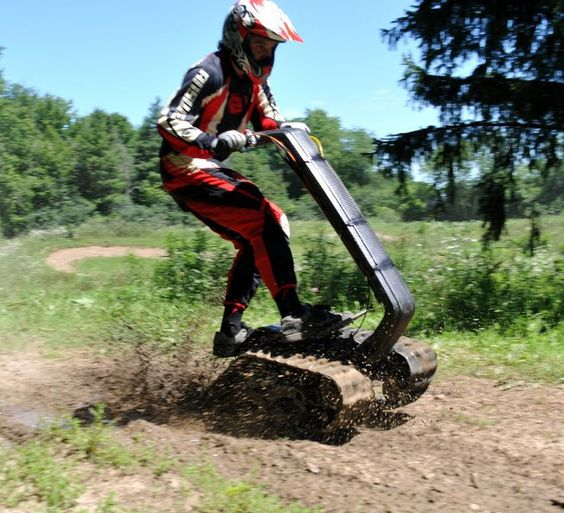 Segways Are For Sissies. Check Out The DTV Shredder.