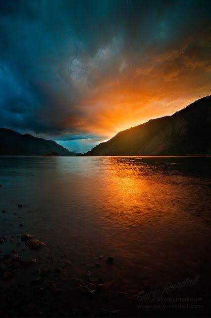 Shrouded Sunrise | Gary Randall