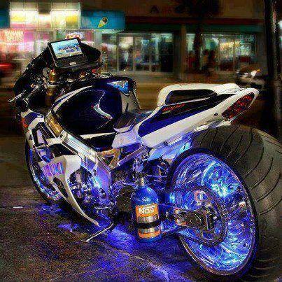 sick bike - straight outta TRON :)