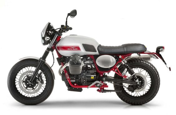 Скрэмблер Moto Guzzi V7 II Stornello 2016