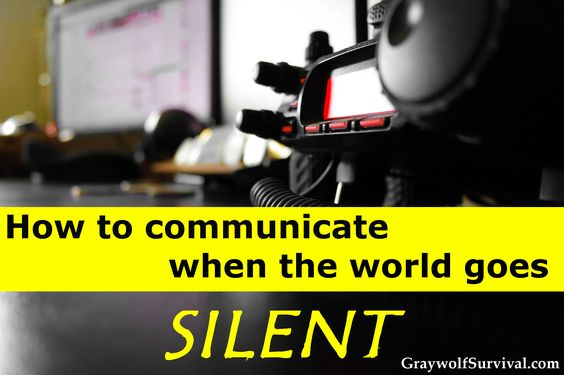 So if cell phones stopped working, how would you communicate? What if an EMP wiped out all electronics? How would you find your family or get help during a disaster or if SHTF?