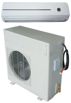 Solar powered air conditioner/ off grid appliances
