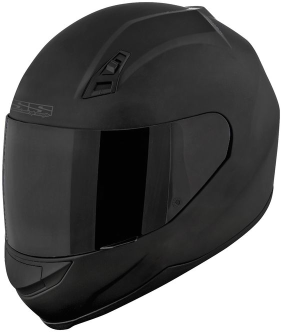 Speed & Strength SS700 Full Face Motorcycle Helmet - Flat Matte Black - See more at:
