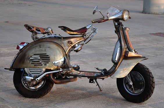 steam#punked #Vespa #scooter @Allison Sales *