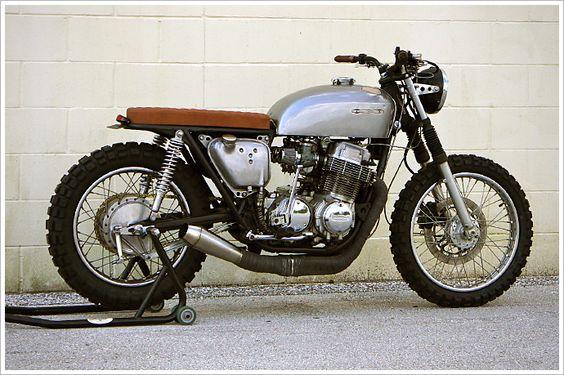 Steel Bent Customs - 1971 Honda CB750 - 'The Brat'