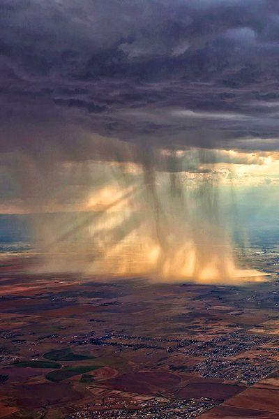 storm over colorado