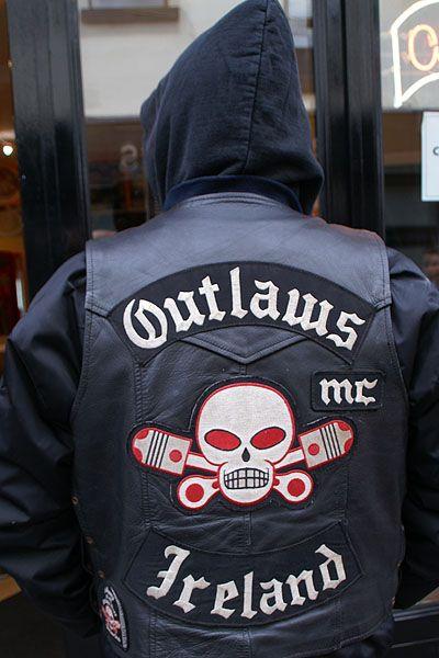 Stumbled upon an Irish biker bar where we saw an Irish Outlaw.