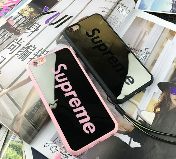 Supreme Fashion Luxury Sliver Mirror Case for iPhone SE 5 5S 6 6S 6PLUS 6S Plus | eBay