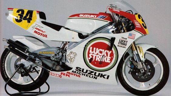 Suzuki RGV-Γ500(XR76) - 1993 World Championship- Kevin Schwantz