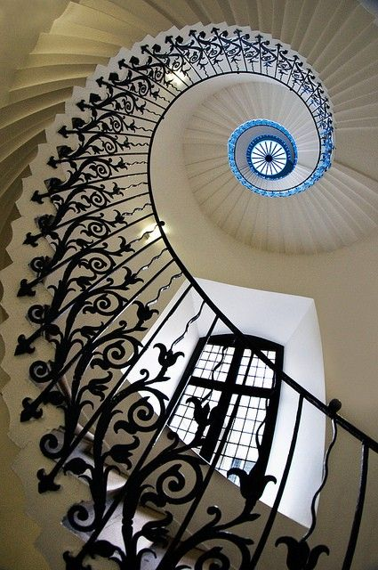 Swirly staircase