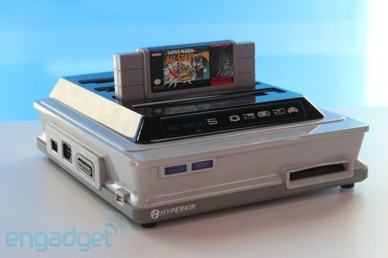 TAKE MY MONEY!!!!! NES, SNES, SEGA GENESIS, GBA + more! Hyperkin's Retron 5: emulating nine classic consoles with help from Android