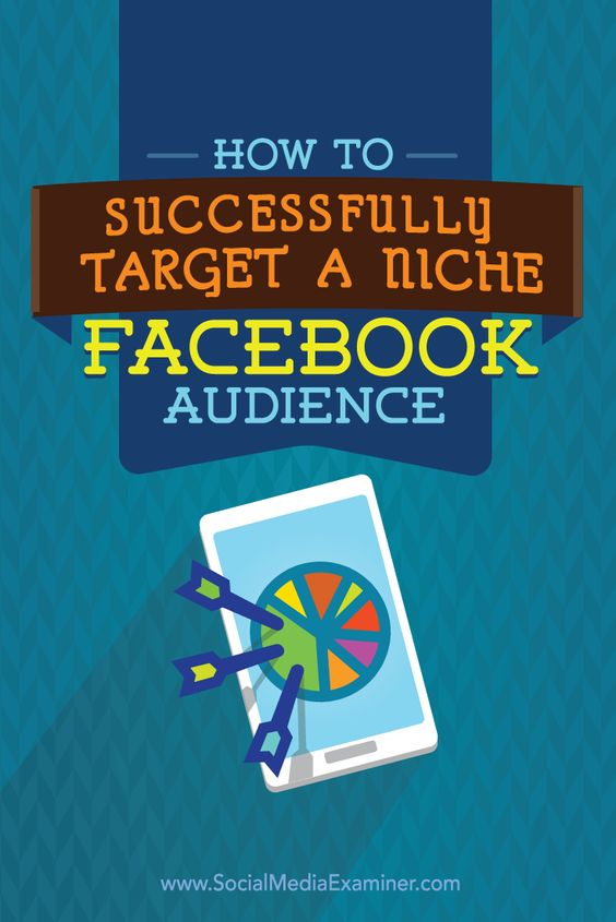 target niche audience on facebook