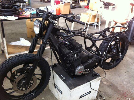 TARMAC CUSTOM MOTORCYCLES: Xj650