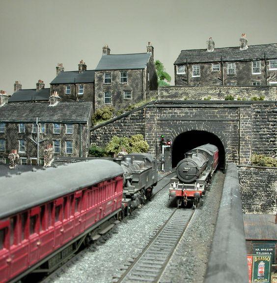 tetley mills model railway layout - Google Search