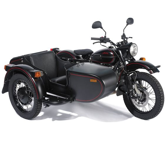The Allied Victory Sidecar Motorcycle.