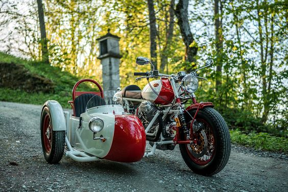 The Alpinist: A Moto Guzzi sidecar rig from NCT Motorcycles.