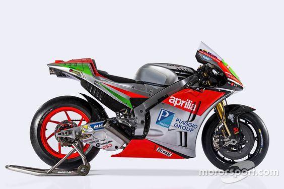 The Aprilia RS-GP 2016