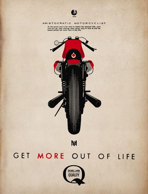 The Aristocratic Motorcyclist