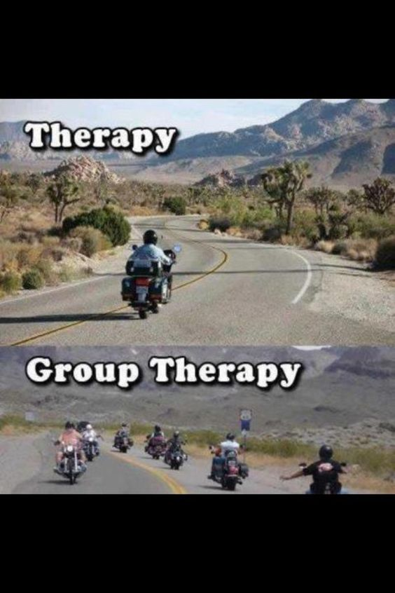 The best type of therapy is riding. #motorcycle #biker