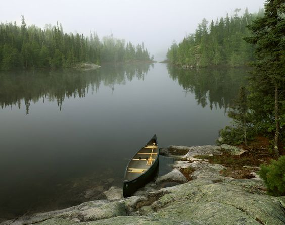 The Boundary Waters Canoe Area Wilderness, northern Minnesota; heaven on earth