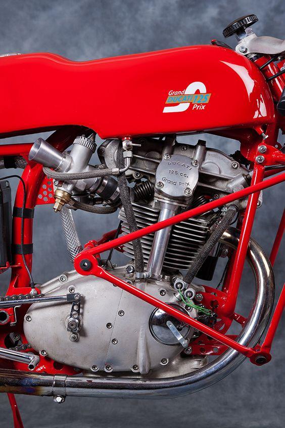 The Ducati 125 Bialbero