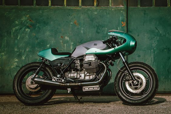 The Fragore Moto Guzzi SP3 Cafe Racer by  and An-Bu Custom Moto.