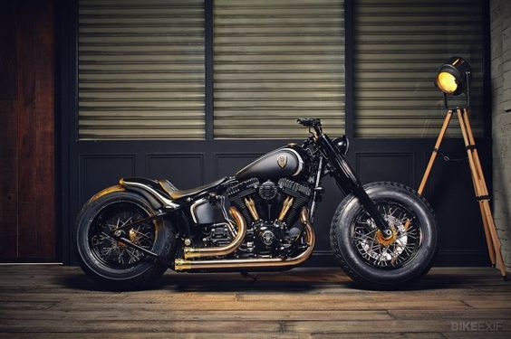 The Harley Softail Slim has two points in its favor: it's a simple bobber-style bike with a vintage vibe, and it has a super-low seat height of less than 24 inches. It's basically a Fat Boy with the fat trimmed off, and there's ample grunt from a 103ci (1688cc) Big Twin motor.