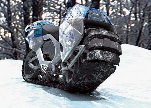 The Hyanide, A Tanklike Bike O-o-o-oh, yeah