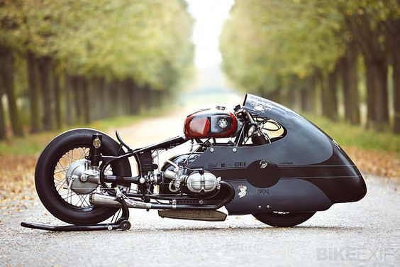 The inspiration for a bike build can come from the most unlikely of sources. In the case of this most unusual BMW sprint bike, it was a