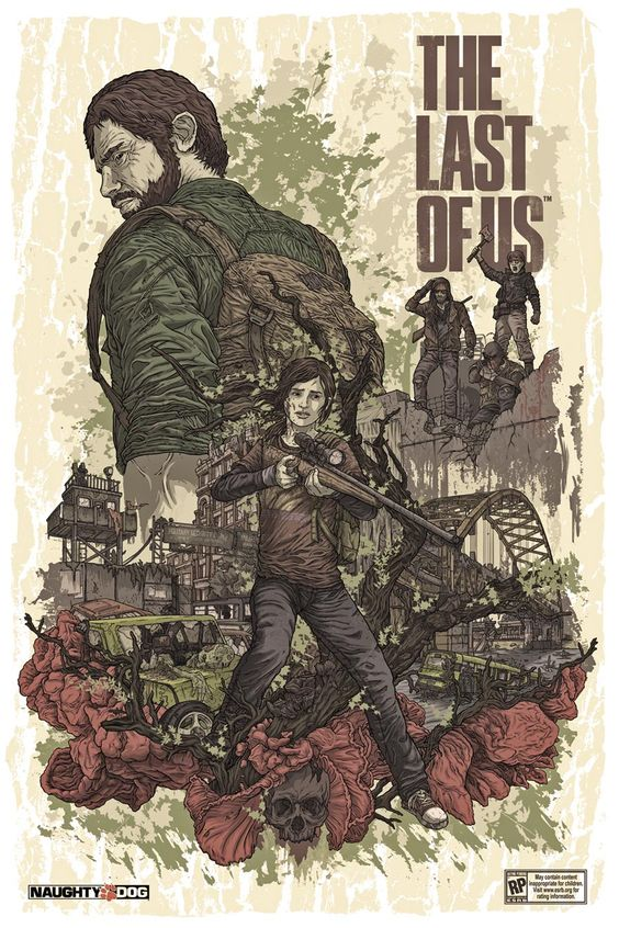 The Last of Us - Pax Prime Poster by Alexander Laccarino