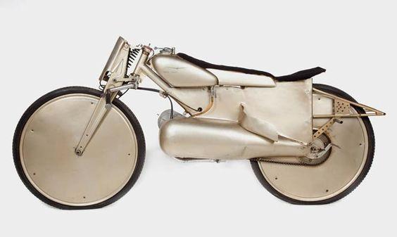 "The #Moto #Guzzi Motoleggera 65 ( ""#Guzzino"") was designed by Antonio Micucci and manufactured by the famous Lombard company from 1946"