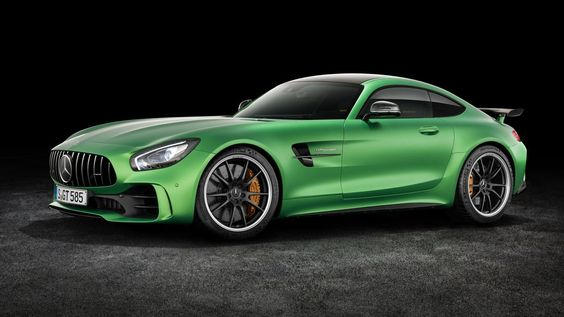 The new AMG GT R is Mercedes-Benz's most hardcore sports car