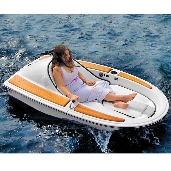 The One-Person Electric Watercraft - Hammacher Schlemmer. For when you just need to escape.