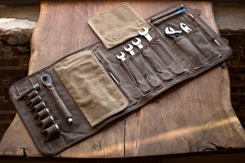 THE ORIGINAL TOOL BOOK ™ — Cotter Pin Moto Gear LLC NYC   Motorcycle Gear NYC   Made in Brooklyn USA   #Motocamp   Travel Gear USA