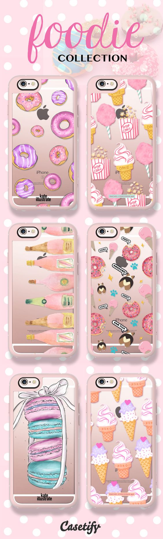 The sweet  Shop our newest Foodie Collection here:  | @Casetify