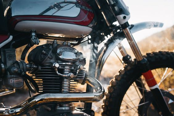 This 1960s Ducati 250 Scrambler built by Bryan Fuller looks just as good as the modern version.