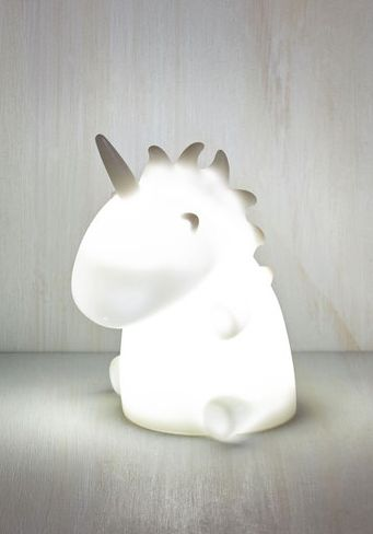 This adorable unicorn light: | 23 Gifts Every Unicorn Lover Needs In Their Life