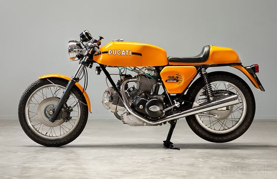 This matching-numbers 1973 Ducati 750 Sport was rescued from a botched custom job by Dutch restorer Harné Heuvelman of Back To Classics.