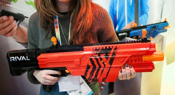 This new Nerf gun shoots at 68 mph
