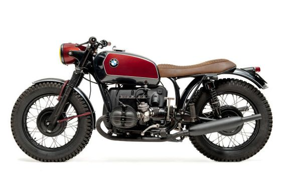This vintage BMW R75/5 from Portugal just oozes glamour and sophistication.