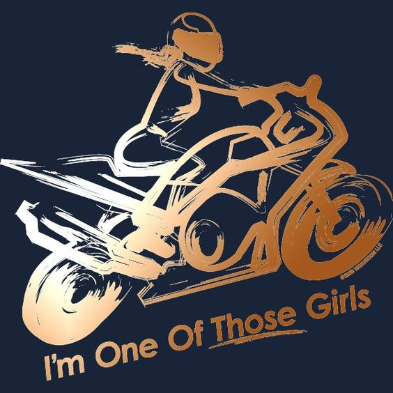 Those Girls – Sport Bike Edition Ladies Fitted Tank