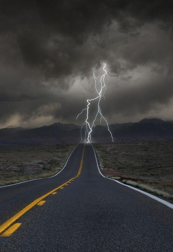 Thunder. #road
