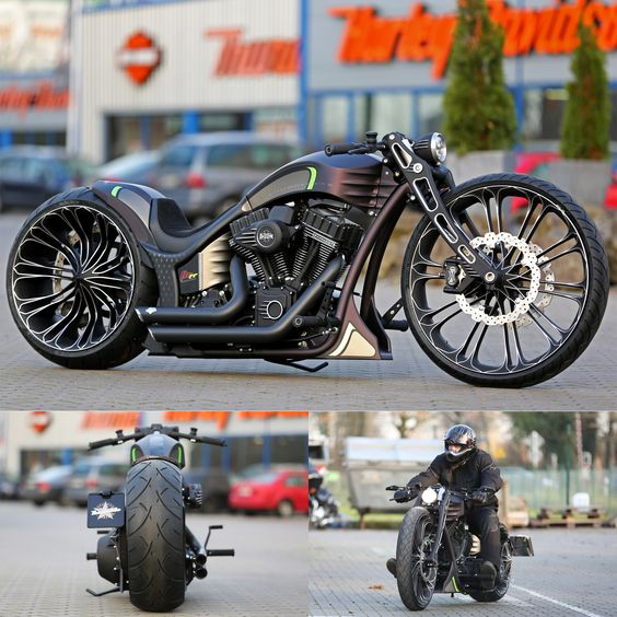 Thunderbike Production-R  - custom motorcycle with Harley-Davidson Screamin Eagle engine