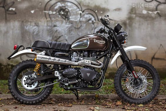 Top 5 Triumph Scrambler customs | Bike EXIF