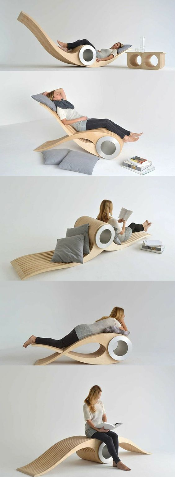 Transforming #Chair Lets You Rest In Different Positions For Maximum Comfort/s