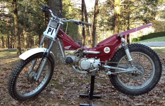 Trials Bike in The Repair Shed - Customizing Your CT Forum