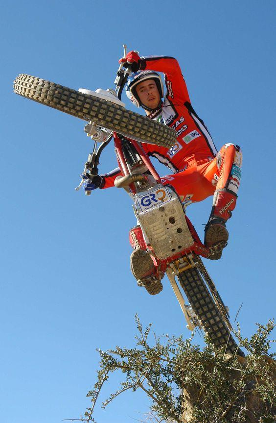 Trials Motorcycle Rider - Adam Raga