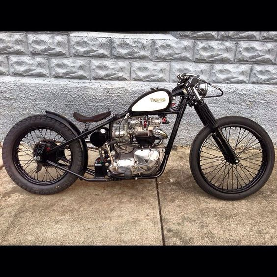 Triumph Bobber motorcycle 88