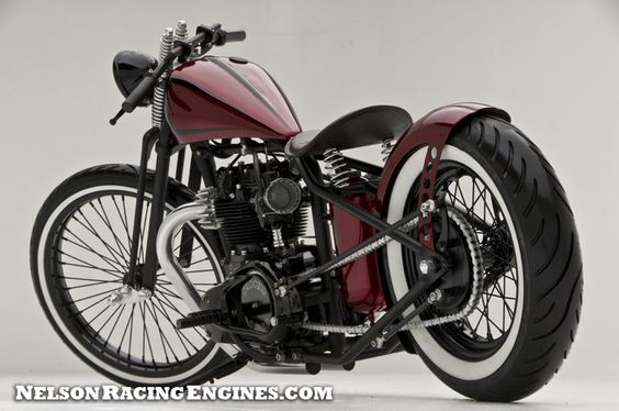 TRIUMPH BOBBERS: Bloody Marry Triumph Bobber